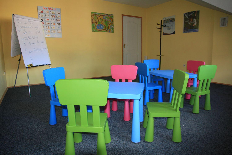 sala dzieci angielski